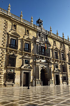 Reimar Gaertner - Historic Mannerist facade of the Royal Chancery of Granada now S