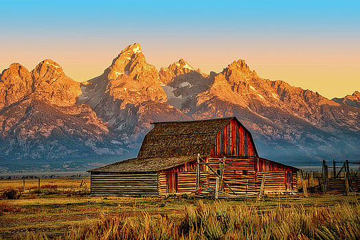 Historic Moulton Barn, Grand Teton National Park by Stacey Sather