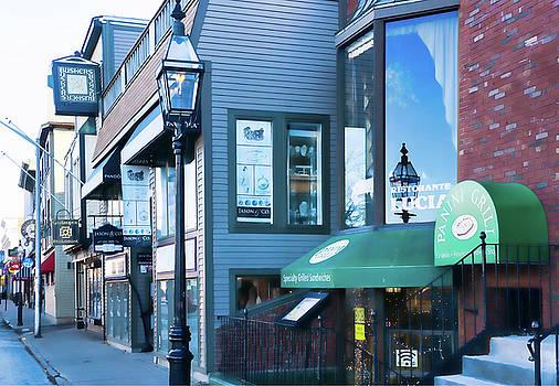 Historic Newport Buildings by Nancy De Flon