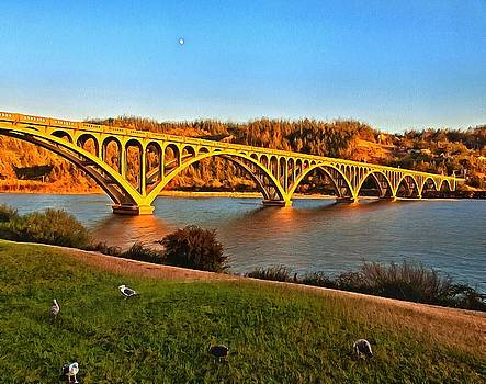 Thom Zehrfeld - Historic Patterson Bridge Gold Beach