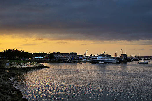 Historic Plymouth Harbor by Todd Dunham