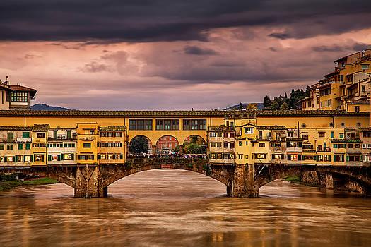 Historic Ponte Vecchio by Andrew Soundarajan