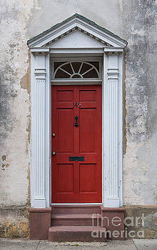 Historic Red Door by Dale Powell