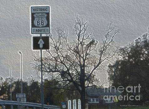 Historic Route 66 by Kathie Chicoine