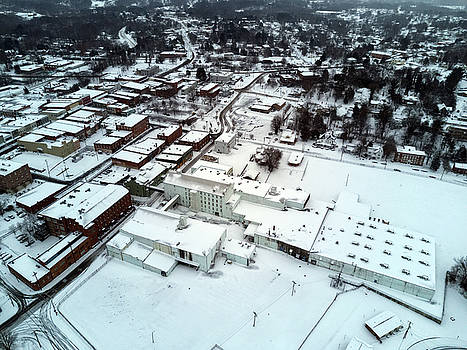 Historic Snow Days by ADA Drone