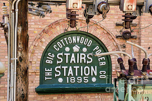 Historic Stairs Station Power Plant - Big Cottonwood Canyon - Utah by Gary Whitton