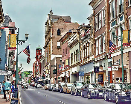 Historic Staunton Virginia - Art of the Small Town  by Kerri Farley
