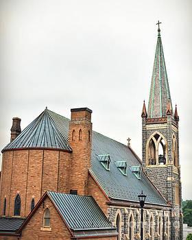 Historic Staunton Virginia - St. Francis of Assisi Catholic Church by Kerri Farley