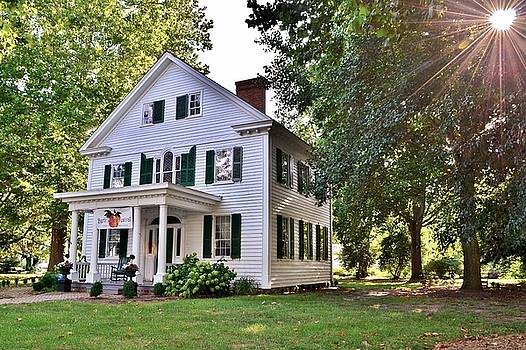 Historic Taylor House - Berlin Maryland by Kim Bemis