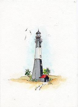 Historic Tybee Lighthouse by Doris Blessington