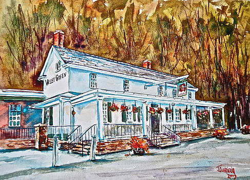 Historic Valley Green Inn by Joyce A Guariglia