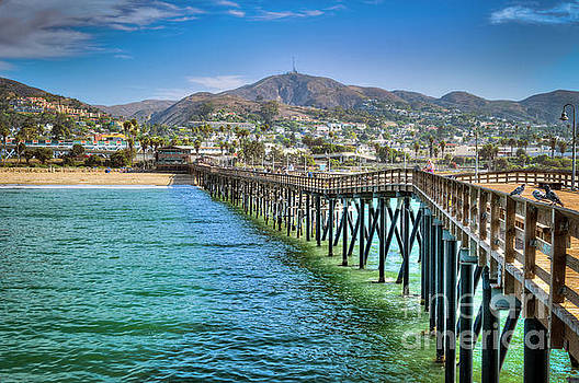 Historic Ventura Wood Pier by David Zanzinger