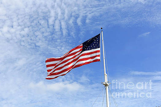 Historic version of the Stars and Stripes by Louise Heusinkveld