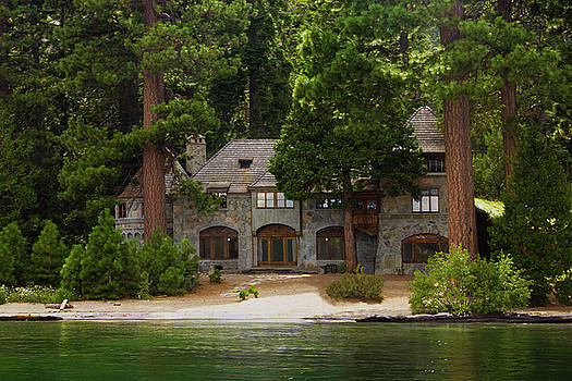 Historic Vikingsholm Castle, Lake Tahoe, California by Bryant Coffey
