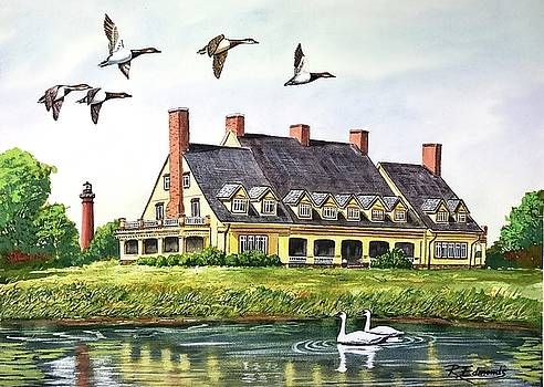 Historic Whalehead Club by Raymond Edmonds