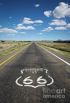 Historica US Route 66 Arizona by Steven Frame
