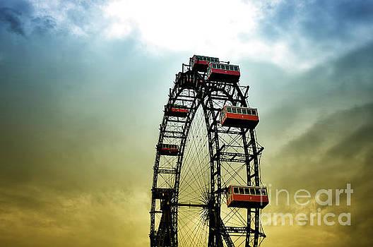 Historical Ferris Wheel by Jan Brons