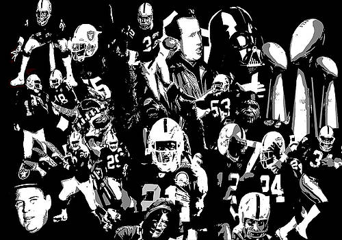 History Raider Nation A Collage by John Farr