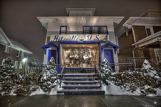 Hitsville USA Detroit MI by A And N Art