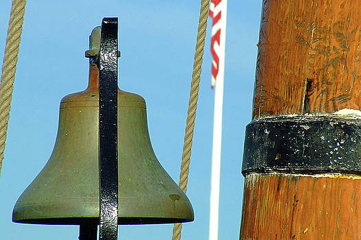 HMS Bounty Ships Bell by Brian Pflanz