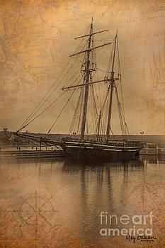 HMS Tecumseth by Marj Dubeau