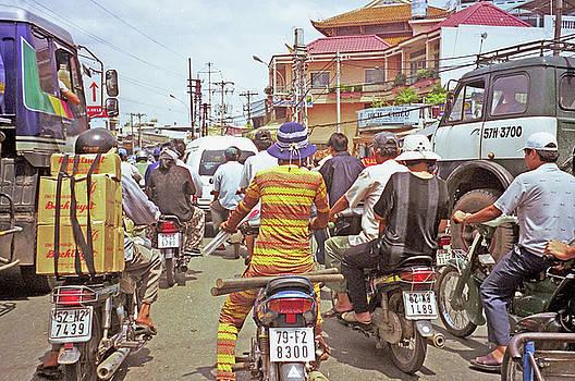 Ho Chi Minh City Traffic Jam by Rich Walter