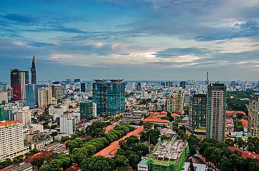 Ho Chi Minh city by Tran Minh Quan