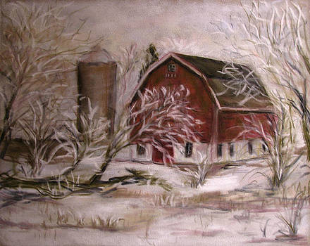 Hoarfrost by Wendie Thompson