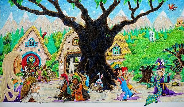 Hobbit Land by Matt Konar
