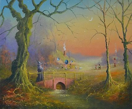 Hobbiton. Gandalf's Search For A Burglar by Joe Gilronan