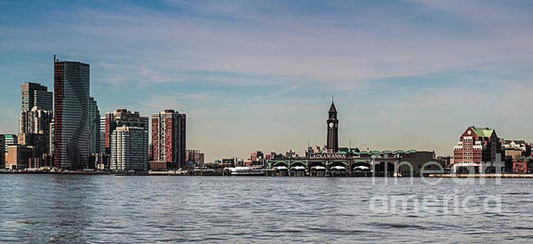Hoboken New Jersey Skyline by Thomas Marchessault