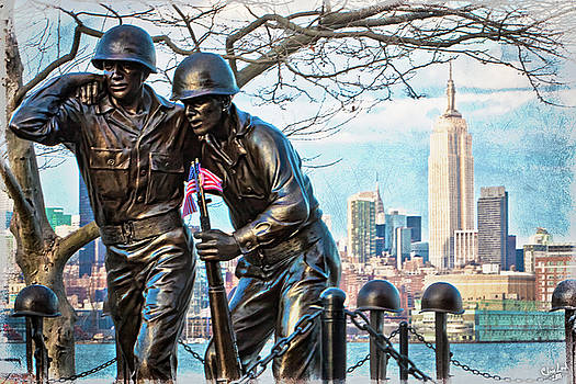 Hoboken War Memorial by Chris Lord