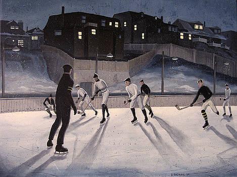 Hockey Christie Pits by Dave Rheaume