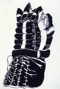 Hockey Glove by Ken Yackel