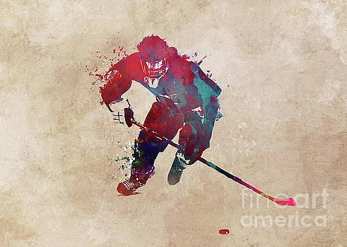 Justyna Jaszke JBJart - Hockey player 1