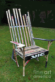 Hockey Stick Chair by Bill Thomson