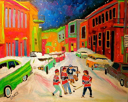 Hockey Street by Michael Litvack