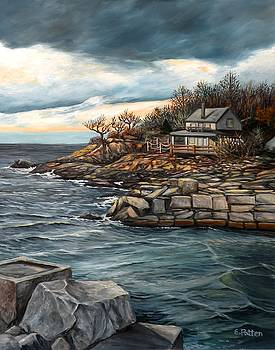 Hodgkins Cove Gloucester MA by Eileen Patten Oliver