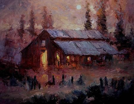 Hoedown at Mr. Robert's barn by R W Goetting