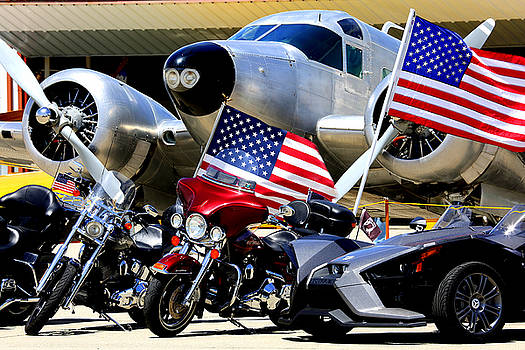 John King - Hog Heaven at the Hollister Air Show