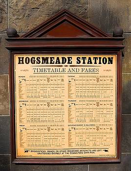 Hogsmeade Station Timetable by Juergen Weiss