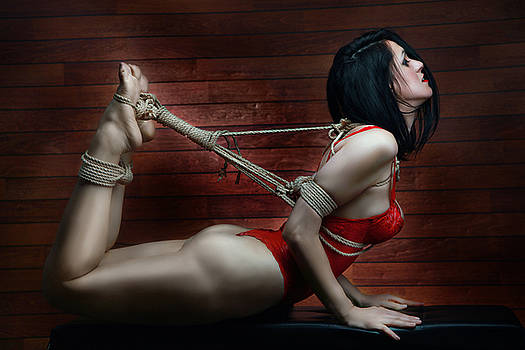 Rod Meier - Hogtied - Fine Art of Bondage