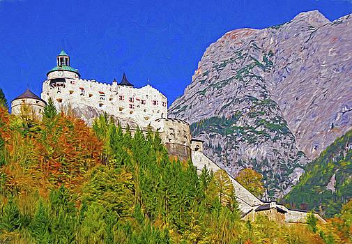 Hohenwerfen Castle by Dennis Cox Photo Explorer