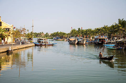 Hoi An River by Rob Hemphill