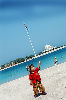 Hoisting The Flag by Farah Faizal