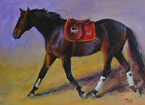 Hokie Horse by Elaine Hurst