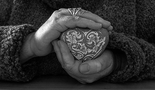 Holding my heart in my hands by Debbie Stott