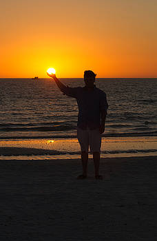 Holding the Sun Marco Island Florida by Toni Thomas