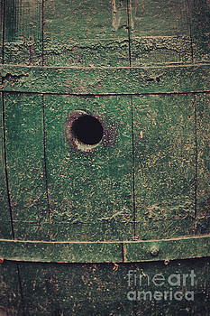 Hole in barrel by Mythja Photography