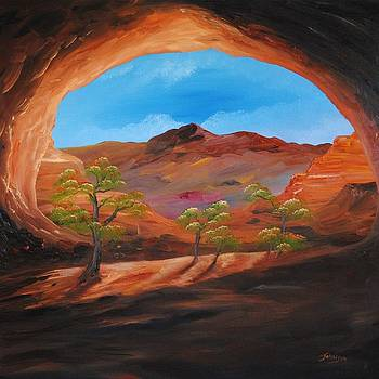 Hole In The Wall by John Johnson